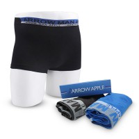 ARROW APPLE-(2 pcs In 1 Set) BOXER PRIA/PAKAIAN DALAM MODEL BOXER