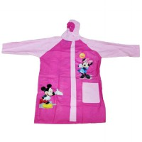 Jas Hujan Anak Disney 6003 - Mickey & Minnie Pink