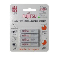 Baterai Fujitsu AAA 750mAh isi 4 pcs (Made In Japan