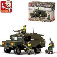 [macyskorea] Sluban Building Block Military Humvee Hummer Star Wars Toys B9900 191 Pieces/12269787