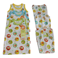 NEW VELVET JUNIOR ANIMAL SETELAN SINGLET SML - KUTUNG - SNI WARNA RANDOM