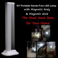 DY Portable lampu handfree SOS rumah mobil outdoor Led emergency (DY-YJ008A) - GREY
