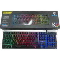 Rexus Gaming Keyboard Battle Fire - K9 RGB + Sound