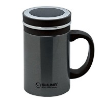 SHUMA Stainless Steel Vacuum Mug 500ML - Grey