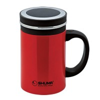 SHUMA Stainless Steel Vacuum Mug 500ML - Red (panas selama 8-12 jam)