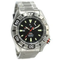 Orient Jam Tangan Pria Silver Hitam Stainless Steel SEL03001B M-Force