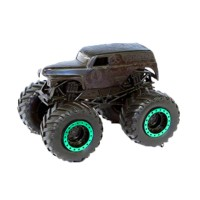 HWMJ162 Hot Wheels Monster Jam Grave Digger Black Out Special (1:64) Scale Original Item