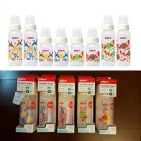 PIGEON BOTOL SLIM NECK UK 240ML MOTIF