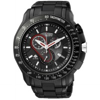 JAM TANGAN CITIZEN ECO-DRIVE FULLBLACK MAN WATCH