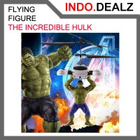 Flying Action Figure Hulk Marvel's the Avengers Flying Doll Boneka Terbang Toy Mainan Anak
