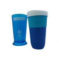 LaBanja Zoku Shake & Take Slush Shake Maker Biru
