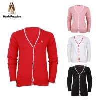 Hush Puppies Sweater Cardigan Wanita Spears LH9009 (Available 4 Color)
