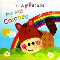 [HelloPandaBooks] First Steps FUN WITH COLOURS Board Book