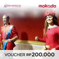 Paket Combo : Alive Museum + Alive Star Ancol Weekends & Public Holiday