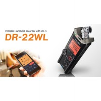 Tascam DR-22WL Portable Digital Handheld Recorder With Wi-Fi