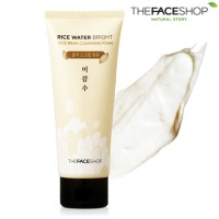 rice water bright rice bran cleansing foam