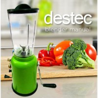 Destec Blender Tangan / Manual / Putar 1 tabung