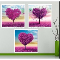 DIY 5D Diamond Painting Cross Stitch Love Tree