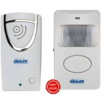 IL-303 IDEALIFE Motion Sensor Doorbell - 150m