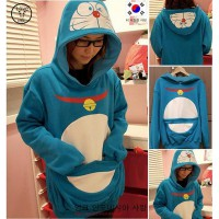 Sweater Wanita Doraemon (sweater lucu, sweater terbaru, sweater murah, jaket lucu, blazer, cardigan)