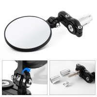 Kaca Spion motor Motorcycle Foldable Rear View Mirrors for 7/8' Handle Bars Bike Scooters -MA591