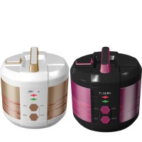 Yong Ma YMC 207 Rice Cooker Magic Stone Colored Stainless Magic Com - Gold - Hitam