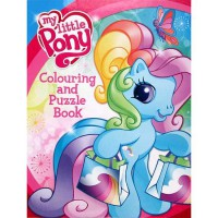 [HelloPandaBooks] My Little Pony Colouring and Puzzle Book (Rainbow cover)