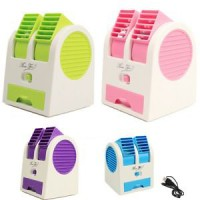 AC Portable Mini Duduk Double Fan