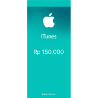 Itunes Gift Card Indonesia Region - IGC - Nominal 150,000