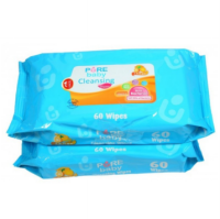 [1+1] Pure Baby Cleansing Wipes 60'S lemon