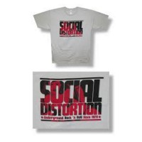 Social Distortion Words Tee Size L