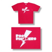 Foo Fighters Lightning Tee Size S