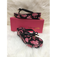 Delima Sandal Wedges Kate Spade Guies Rubber / Rose