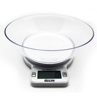 IL-210 IDEALIFE Digital Kitchen Scale - Timer + Bowl 5kg/1gr