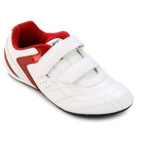 Spotec Sepatu Type Victor Velcro White Red