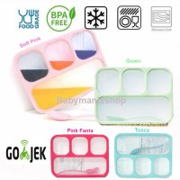 Lunch Box Yooyee 4 Sekat Grid Leak Proof Anti Bocor Bento 578