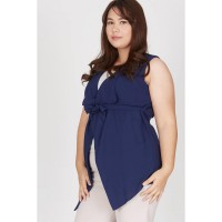 Ieshna Vest In Navy