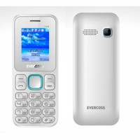 EVERCOSS V1M - CAMERA - DUAL SIM - WHITE BLUE