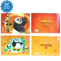 Drawing Book Kungfu Panda 3