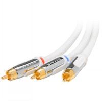 Belkin Premium Component Video Cable 6-ft. White
