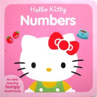 [HelloPandaBooks] Hello Kitty Numbers Boardbook with Bumpy Pictures