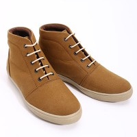 Dr.Kevin Canvas Boot Shoes 4011 Camel