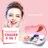 Cnaier Alat Pijat / Pembersih Wajah Facial Cleaning Set 9 in 1