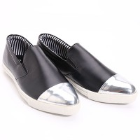 Dr. Kevin Flats Shoes Leather 43144 Black