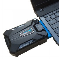 Universal vacuum cooler laptop / Pendingin laptop . - Black