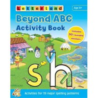 [HelloPandaBooks] Letterland BEYOND ABC Activity Book (Includes 50 Reusable Stickers)
