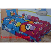 Sprei Lady Rose 120 Motif Owl