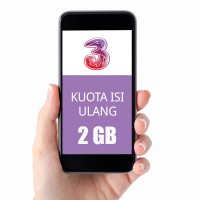 TRI Three Paket Data Kuota 2GB (Ikut Masa Aktif Kartu)+3GB All (30Hr)+1GB Lokal Medan (30Hr)