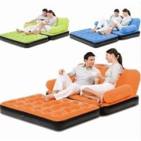 Bestway 2 in 1 Sofa Bed Double Size with Electric Pump