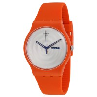 Swatch SUOO702 MULTI BROSS - Jam Tangan Unisex - Orange
